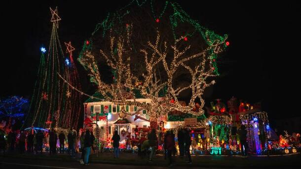 Seattle Best Christmas Lights Tour