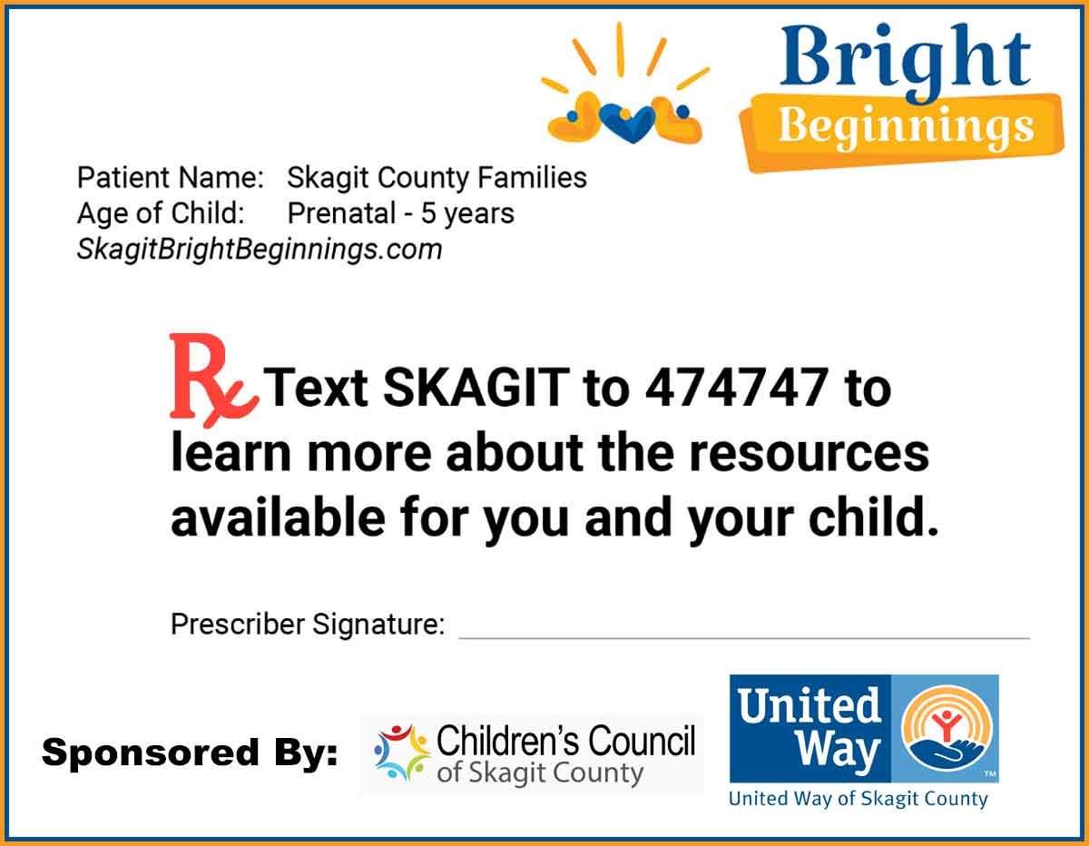 Skagit Bright Beginnings for Parents of Children 0-5 Years