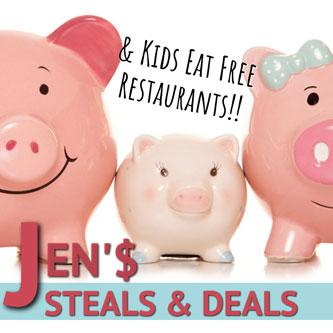 Jens Steals Deals Kids Eat Free Related