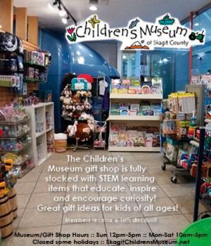 Children's Museum of Skagit County Gift Store