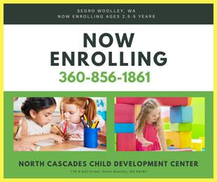 North Cascades Child Development Center is Enrolling