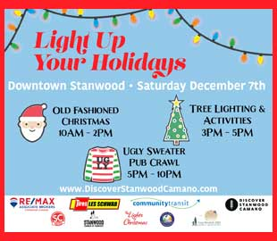 Light Up Your Holidays in Stanwood!